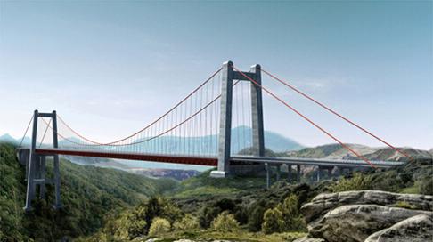 贵州抵母河大桥