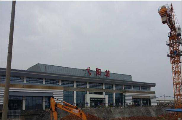 江西弋阳高铁站